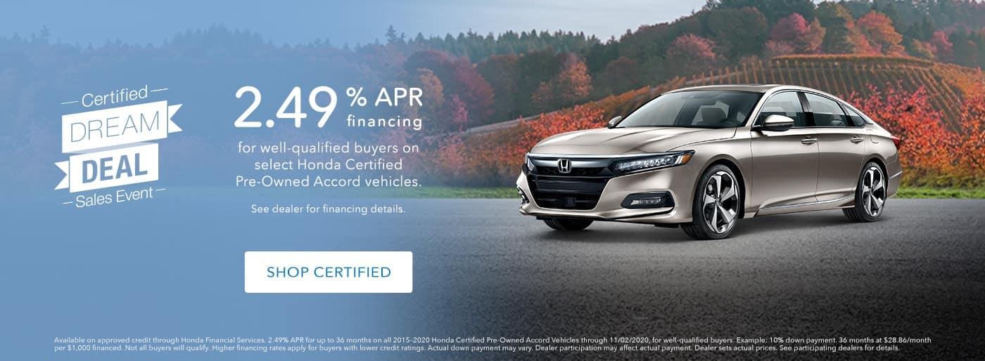 Honda Certified Pre-Owned Sales Event at Keenan Honda