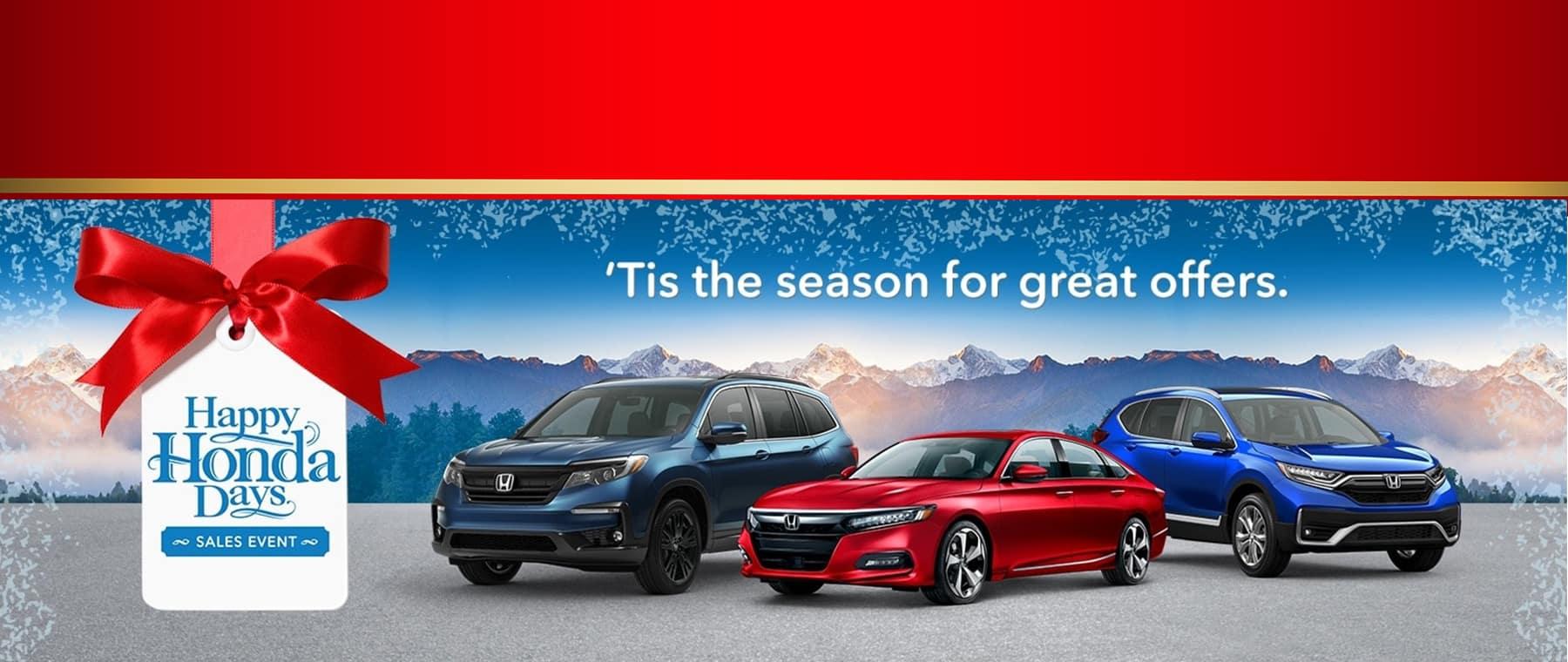 Happy Honda Days Sales Event at Keenan Honda