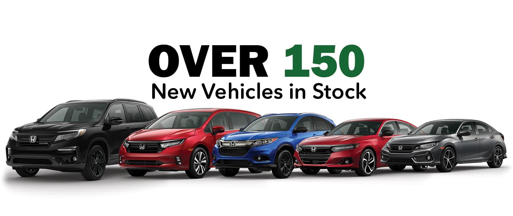 Keenan Honda New Car Inventory