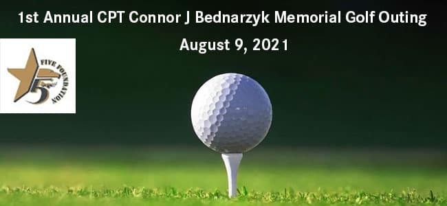 1st Annual CPT Connor J Bednarzyk Memorial Golf Outing