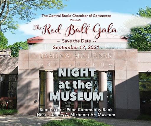 Central Bucks Chamber of Commerce Red Ball Gala 2021 Night at the Museum