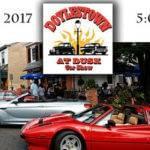 Doylestown At Dusk Car Show 2017