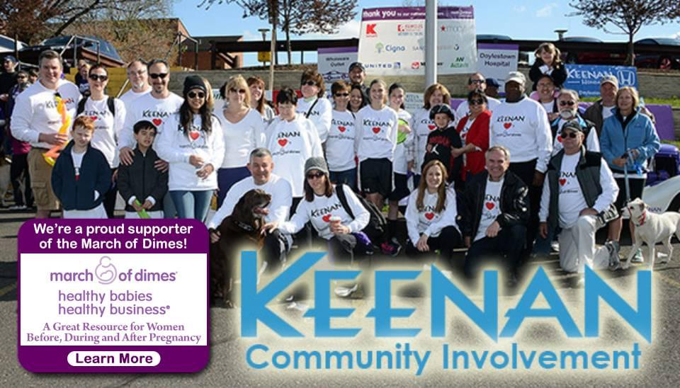 Keenan Motors Community Involvement Doylestown PA