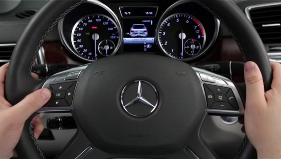 How to Use Your Mercedes-Benz Tire Pressure Monitoring System (TPMS)