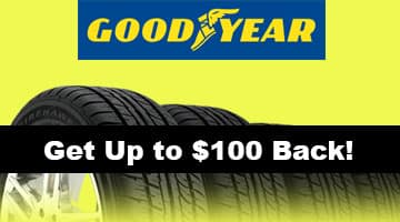 GoodYear $100 Tire Rebate