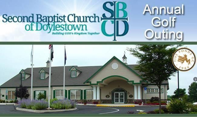 Second Baptist Church of Doylestown Annual Golf Outing