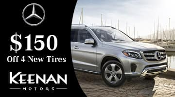 Mercedes-Benz Tire Special $150 off 4 New Tires