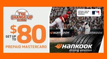 Hankook $80 Tire Rebate at Keenan Motors