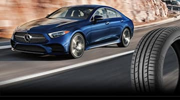 Mercedes-Benz Tire Special - $160 off 4 New Tires   $70 off 2 New Tires
