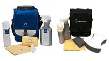 Mercedes-Benz Interior and Exterior Car Care Kits