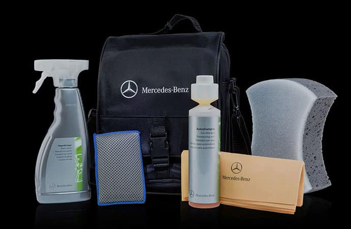Mercedes-Benz Interior and Exterior Cleaning Products