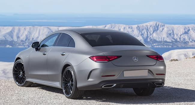 2019 Mercedes-Benz CLS Rear