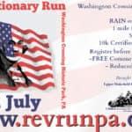 38th Annual Revolutionary Run 2018 at Washington Crossing