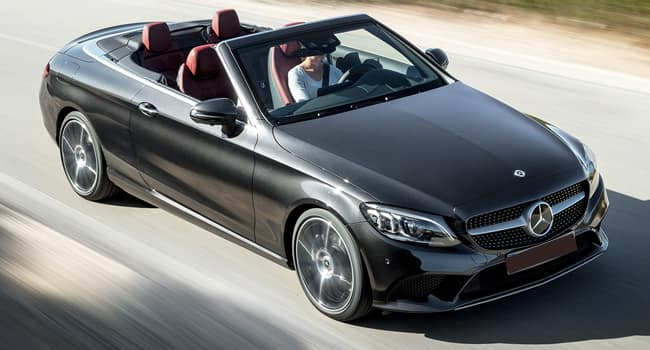The New 2019 C-Class Cabriolet