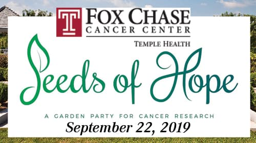 "Fox Chase's ""Seeds of Hope"" Fundraiser 2019"