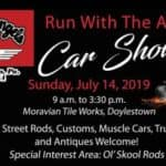 Road Angels' Rod Run Car Show 2019
