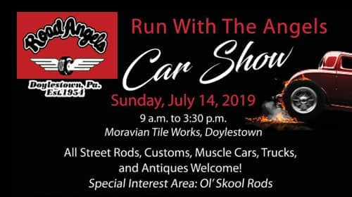 Road Angels' Rod Run Car Show 2019