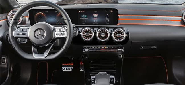 2020 Mercedes-Benz CLA Interior