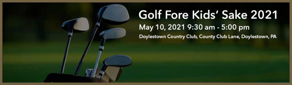 Big Brothers Big Sisters of Bucks County Golf Fore Kids Sake 2021