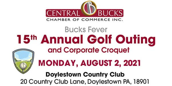 Central Bucks Chamber of Commerce 15th Annual Golf Outing 2021