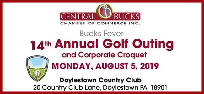Central Bucks Chamber of Commerce 14th Annual Golf Outing 2019