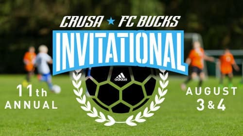 CRUSA and FC Bucks 11th Annual Invitational 2019