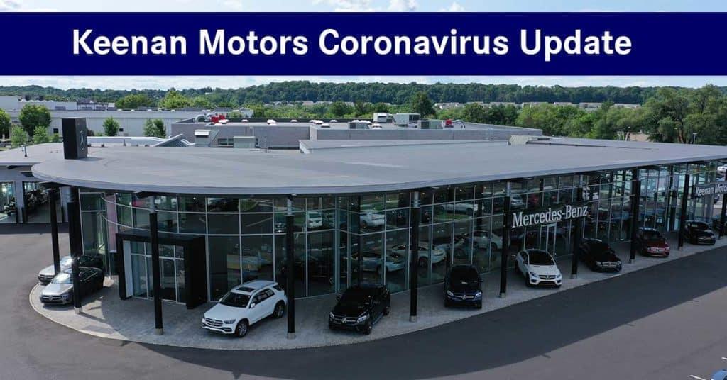 Keenan Motors Coronavirus Update