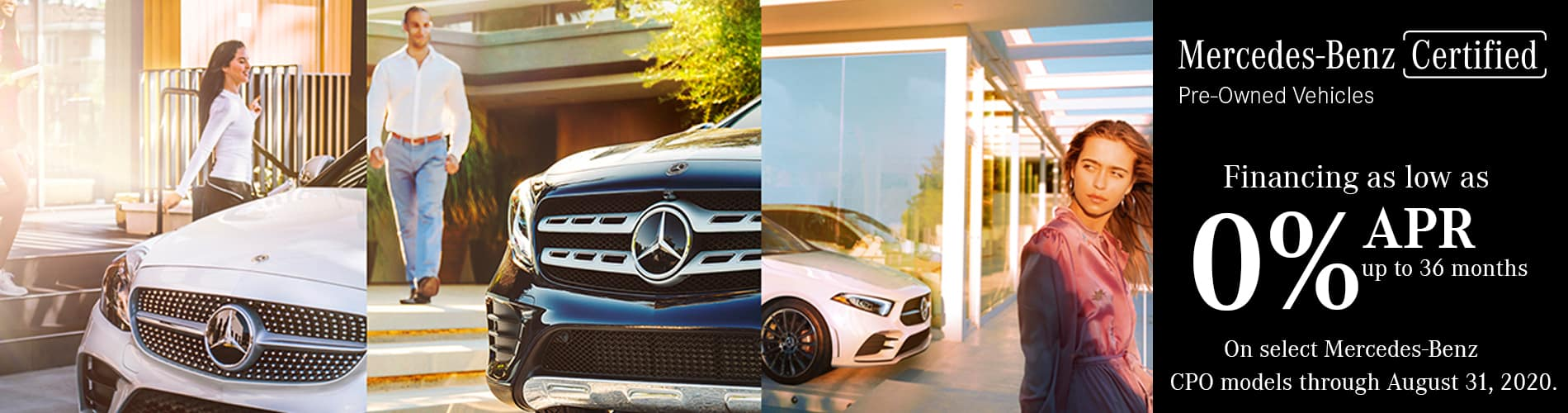 Certified Pre-Owned by Mecedes-Benz Sales Event at Keenan Motors