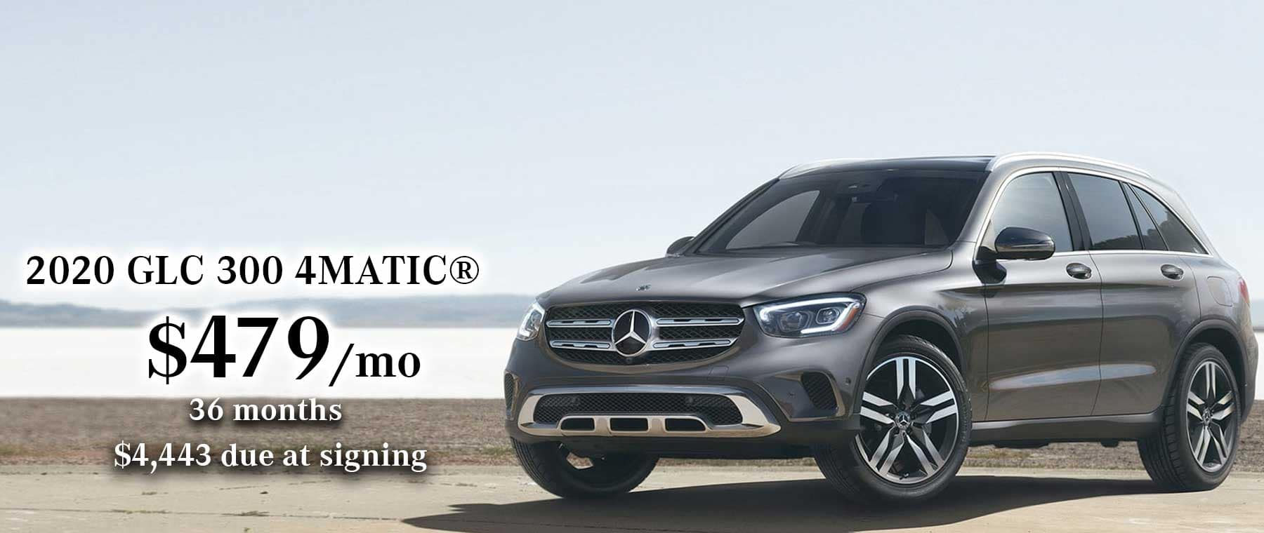 Mercedes-Benz GLC 300 Lease Special