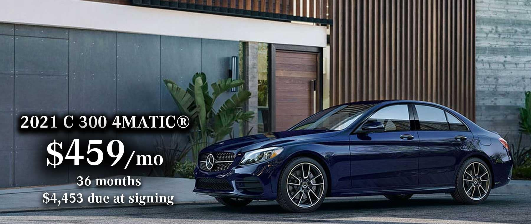 Mercedes-Benz C 300 Lease Special
