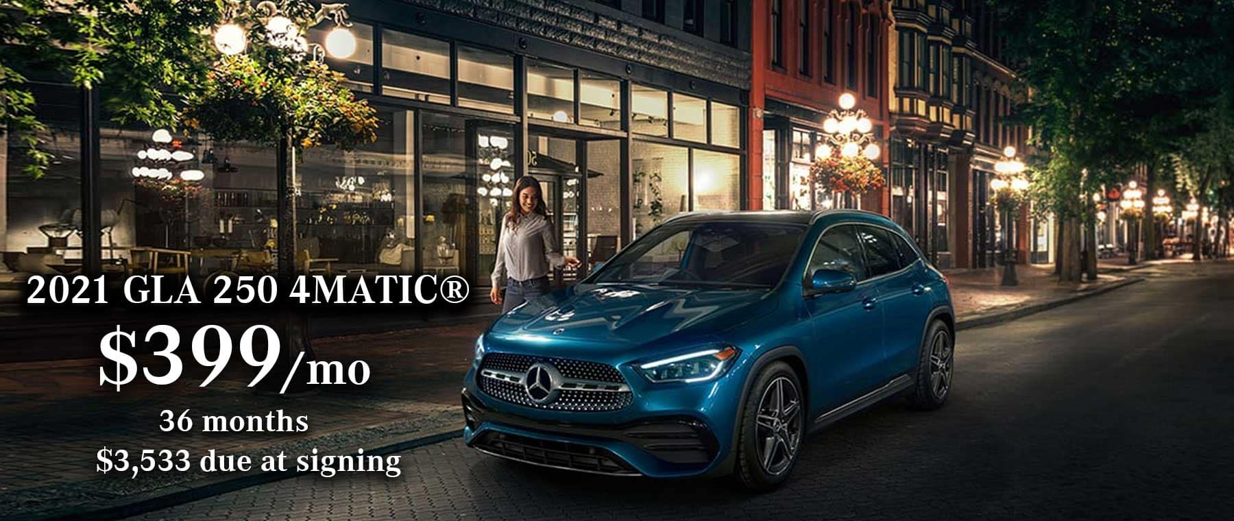 Mercedes-Benz GLA 250 Lease Special