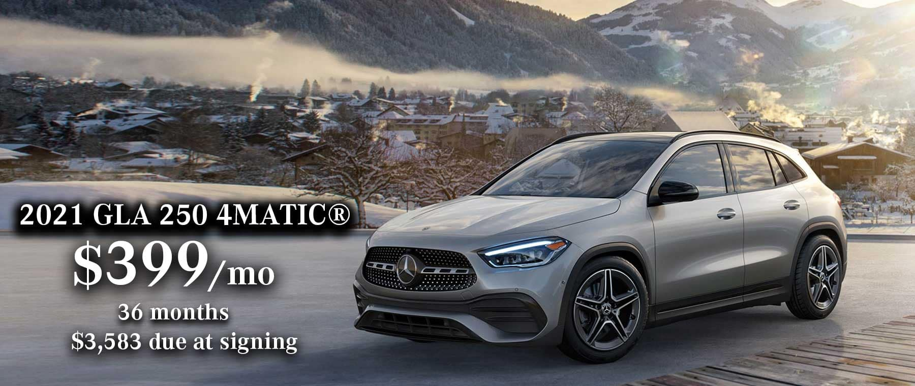 2021 Mercedes-Benz GLA 250 Lease Special
