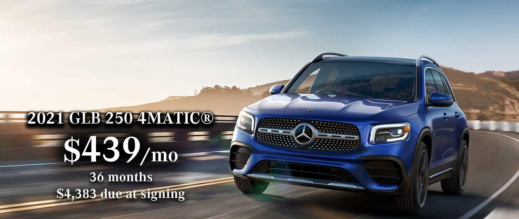 2021 Mercedes-Benz GLB 250 Lease Special