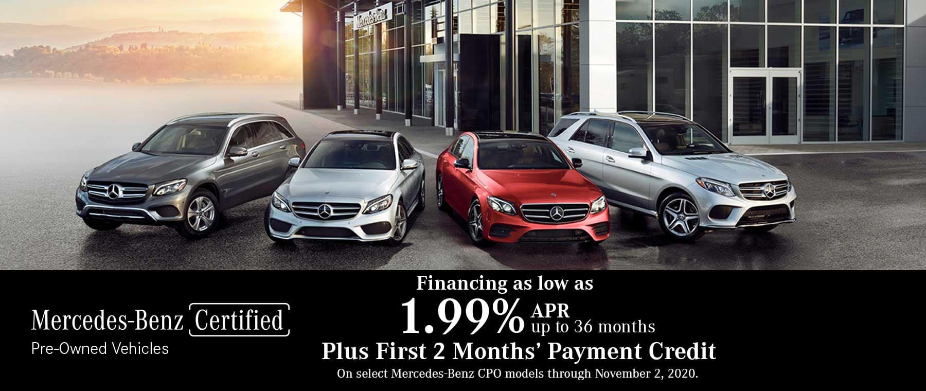 Mercedes-Benz Certified Pre-Owned Sales Event at Keenan Motors