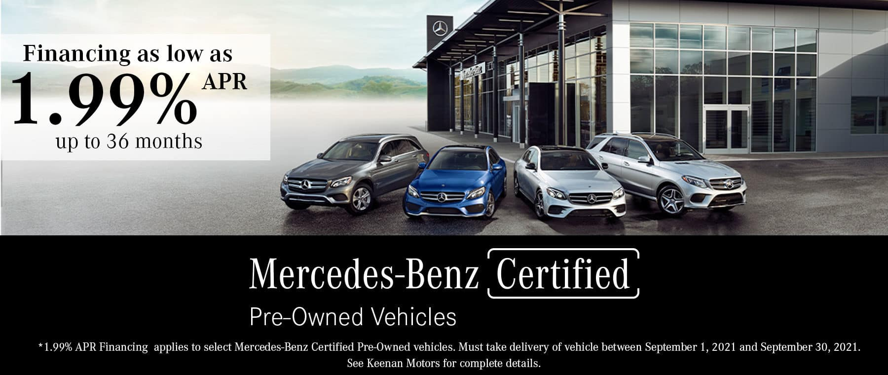 Certified Pre-Owned by Mercedes-Benz at Keenan Motors