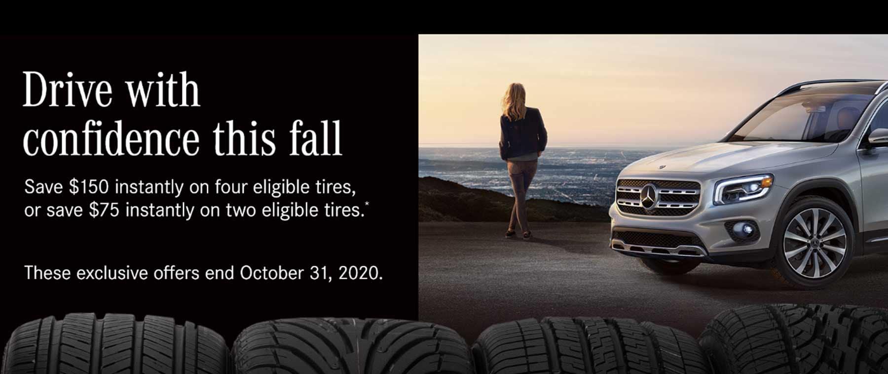 Mercedes-Benz Tire Special at Keenan Motors
