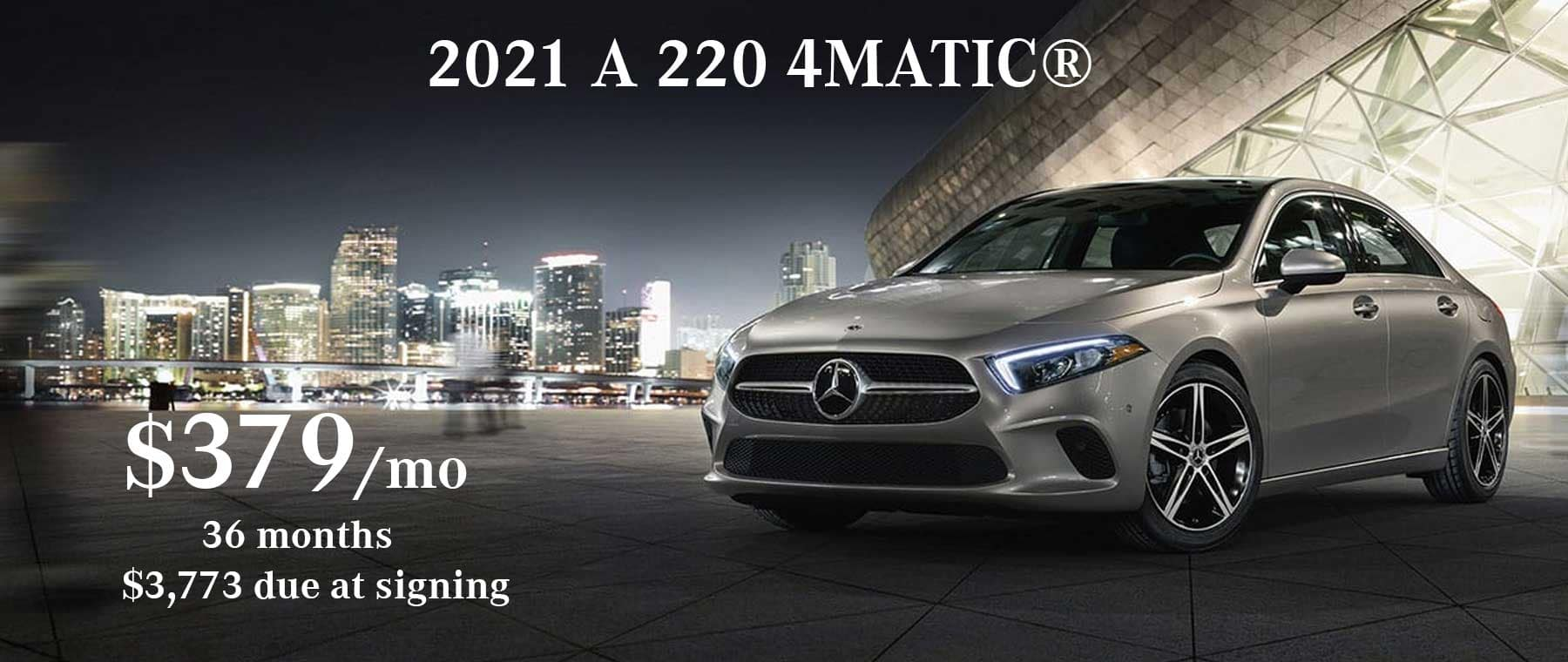 Mercedes-Benz A 220 Lease Special