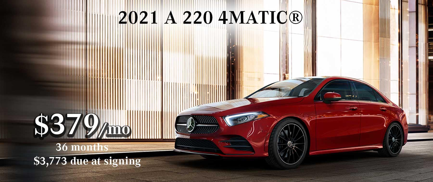 2021 Mercedes-Benz A 220 Lease Special
