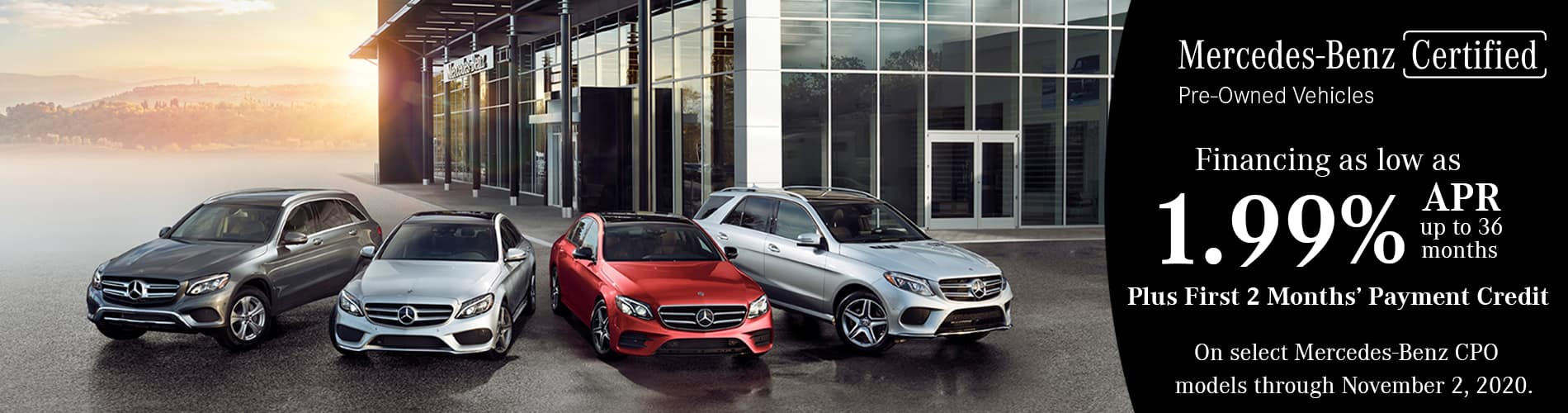Mercedes-Benz Certified Pre-Owned Vehicles Sales Event at Keenan Motors