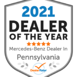 Keenan Motors Wins 2021 DealerRater Mercedes-Benz Dealer of the Year Award