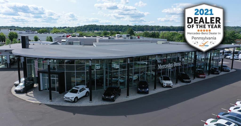 Keenan Motors Wins 2021 DealerRater Mercedes-Benz Dealer of the Year Award