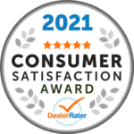 Keenan Motors Earns 2021 DealerRater Consumer Satisfaction Award for Outstanding Customer Experience