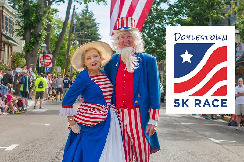 28th Annual Doylestown 5k Race and Mile Fun Run 2021