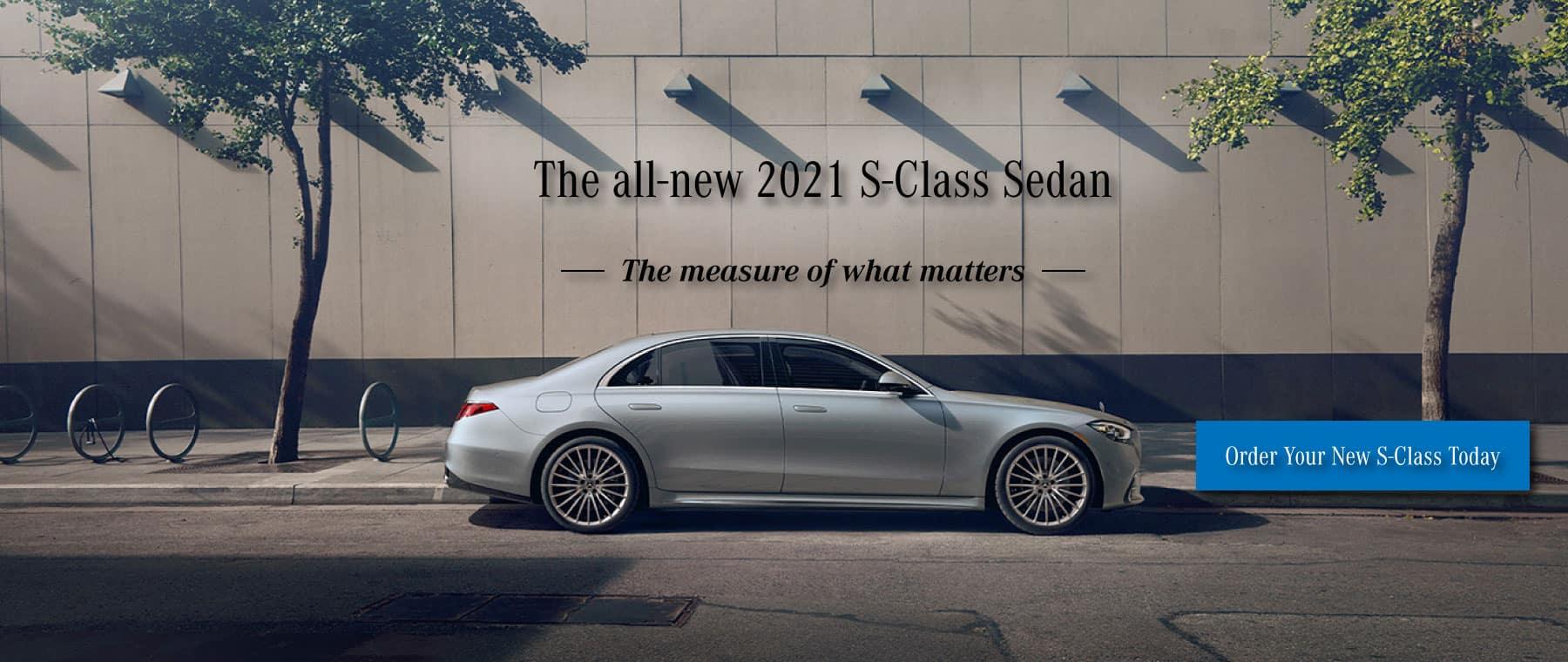 Keenan Motors Mercedes-Benz 2021 S-Class Sedan