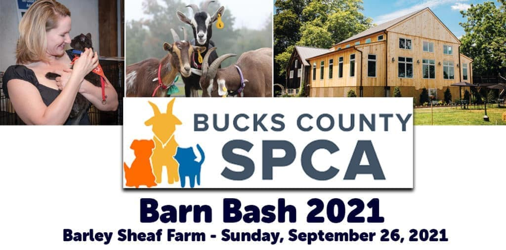 Bucks County SPCA Barn Bash 2021 at Barley Sheaf Farm