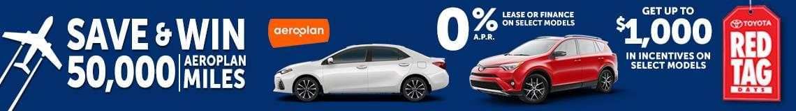 Save and Win_Kelowna_Toyota_Red_Tag_Days