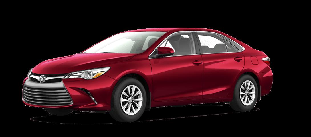 2017 Toyota Camry Hybrid Red at Kelowna Toyota BC