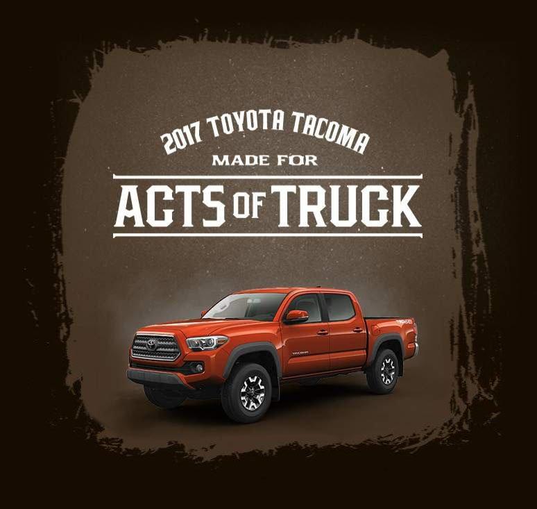 See the Tacoma Acts of Trucks at Kelowna Toyota in Kelowna, BC