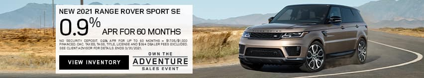 New 2021 Range Rover Sport HSE Silver Edition