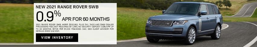 New 2021 Range Rover SWB